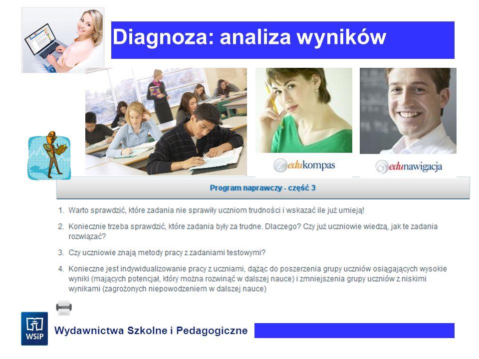 Diagnoza: analiza wyników