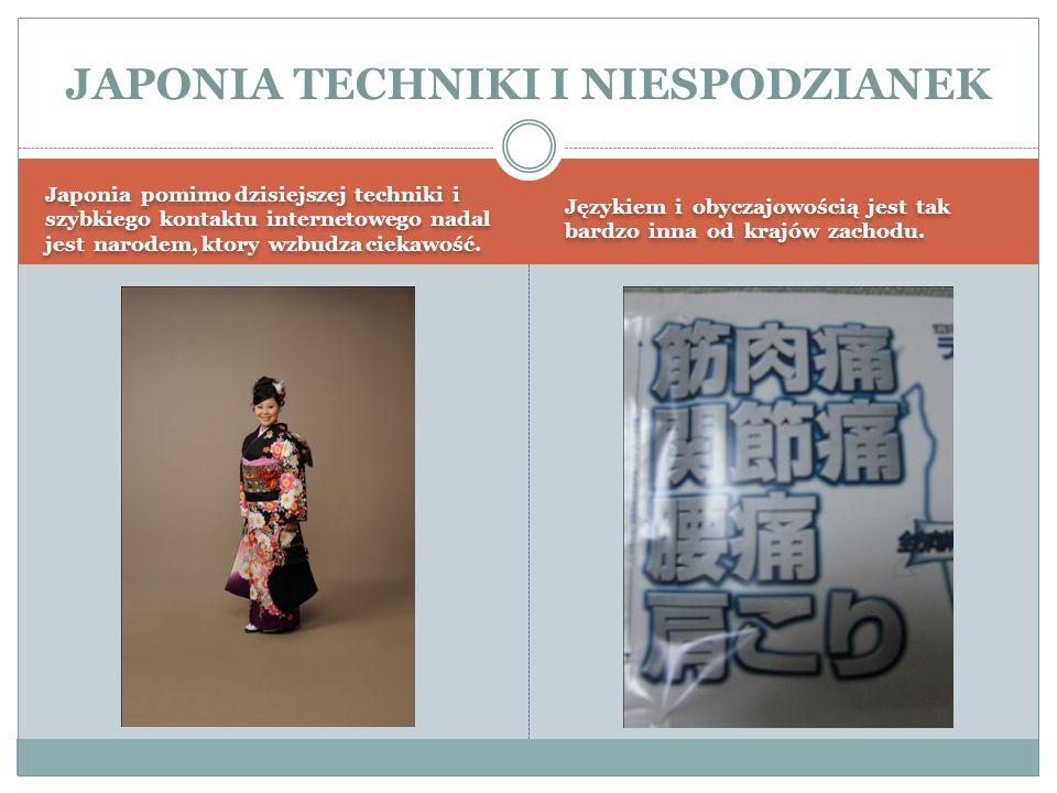 JAPONIA TECHNIKI I NIESPODZIANEK