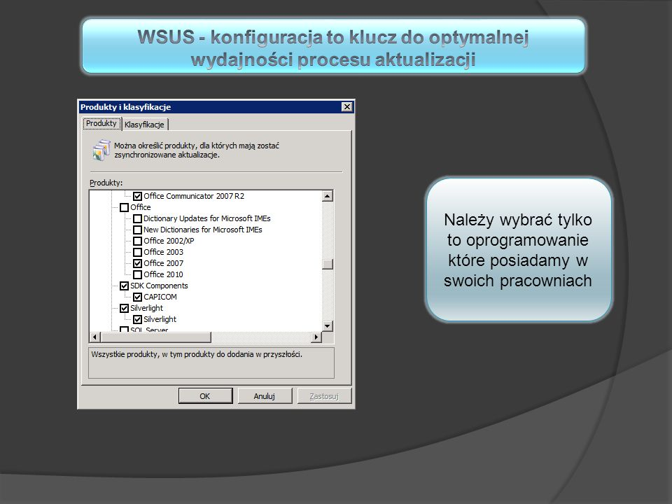 WSUS - konfiguracja to klucz do optymalnej wydajności procesu aktualizacji