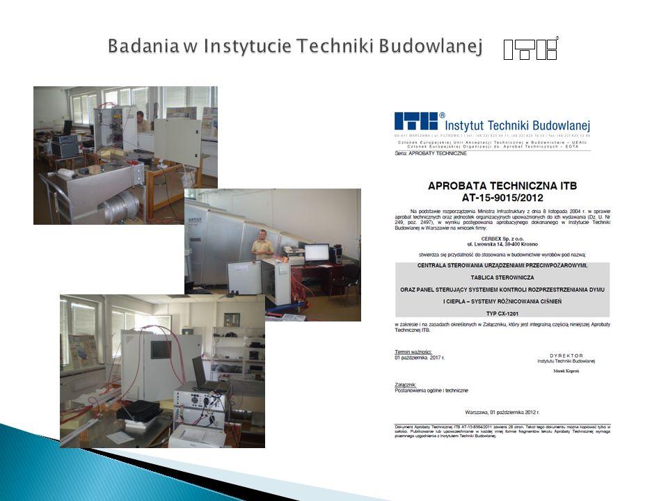 Badania w Instytucie Techniki Budowlanej