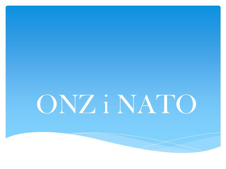 ONZ i NATO