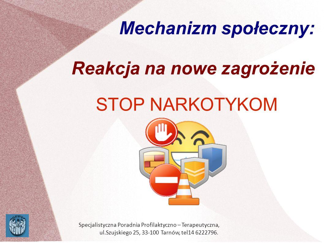 Mechanizm społeczny: Reakcja na nowe zagrożenie