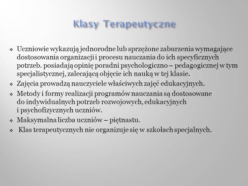 Klasy Terapeutyczne