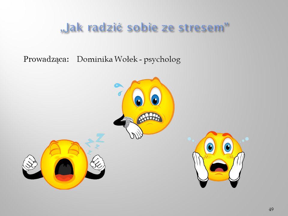 """""""Jak radzić sobie ze stresem"""