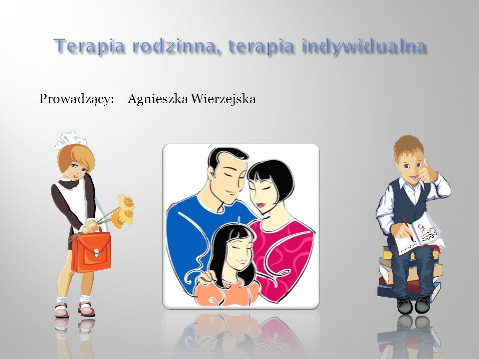 Terapia rodzinna, terapia indywidualna