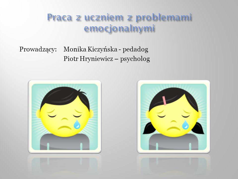 Praca z uczniem z problemami emocjonalnymi