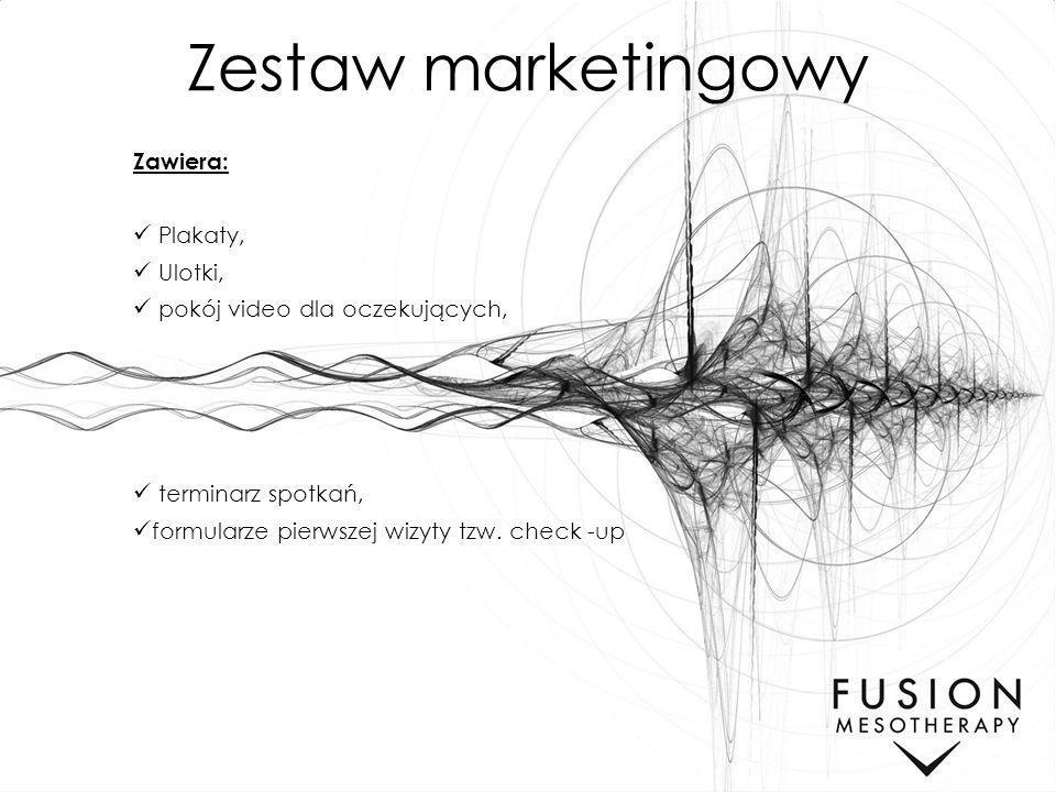 Zestaw marketingowy Zawiera: Plakaty, Ulotki,