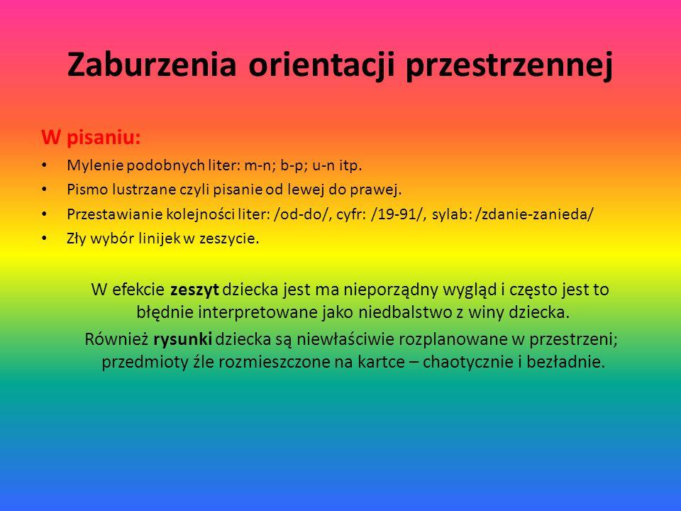 Zaburzenia orientacji przestrzennej