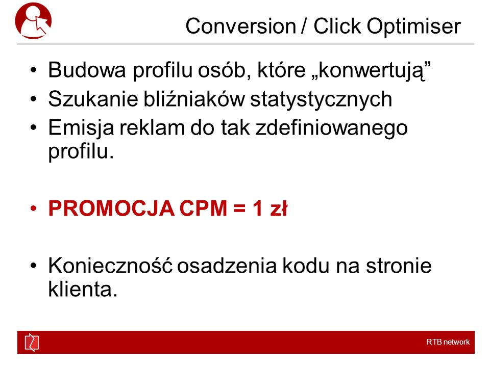 Conversion / Click Optimiser