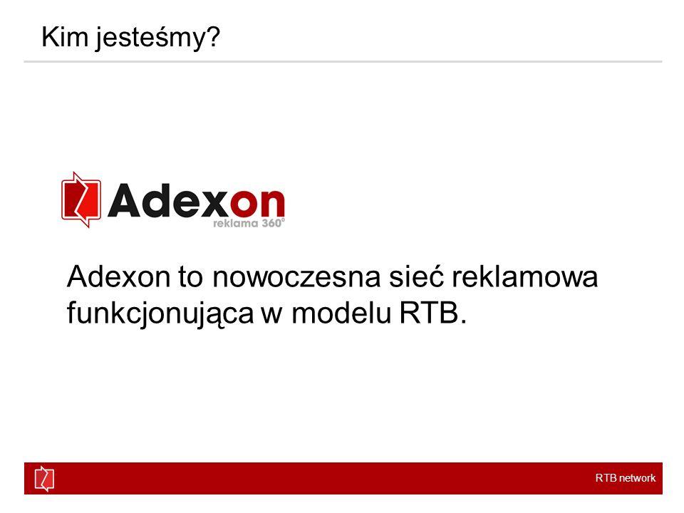 Adexon to nowoczesna sieć reklamowa funkcjonująca w modelu RTB.