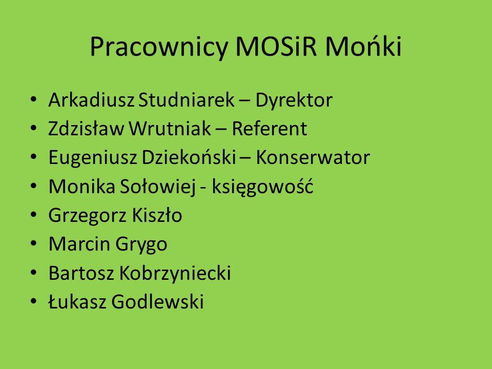 Pracownicy MOSiR Mońki