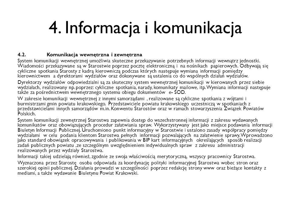4. Informacja i komunikacja