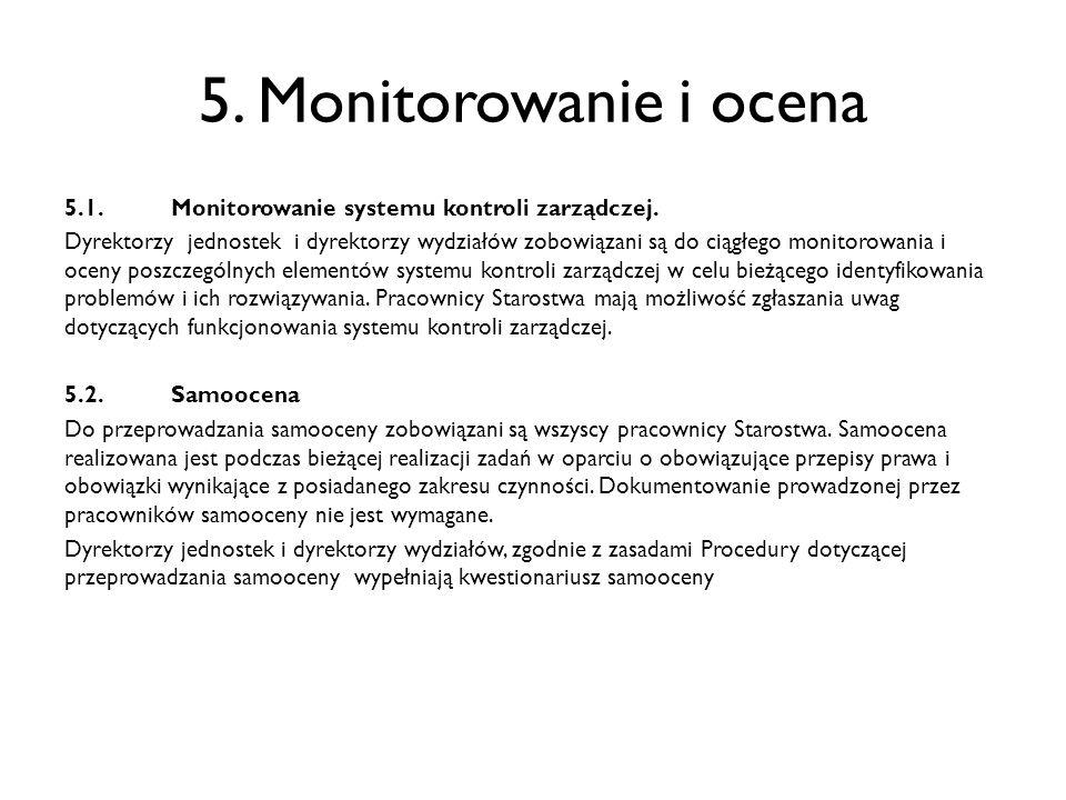 5. Monitorowanie i ocena
