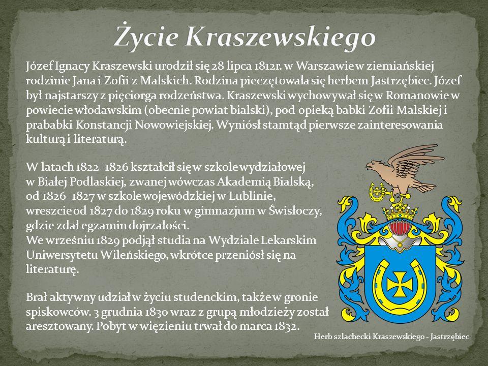 Życie Kraszewskiego