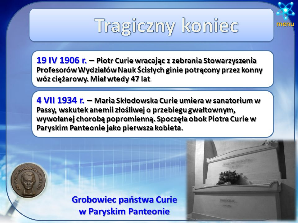 Grobowiec państwa Curie