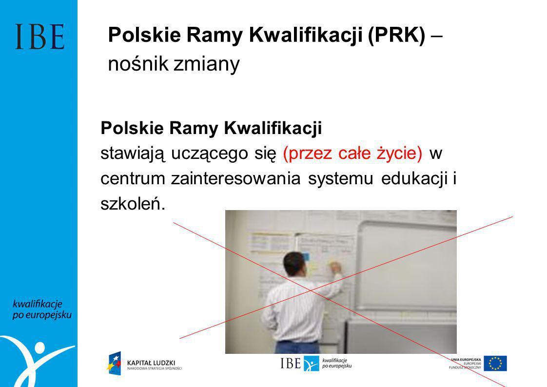 Polskie Ramy Kwalifikacji (PRK) – nośnik zmiany