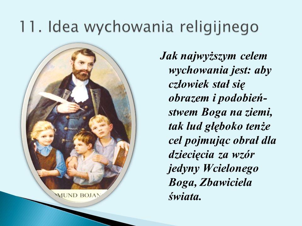 11. Idea wychowania religijnego