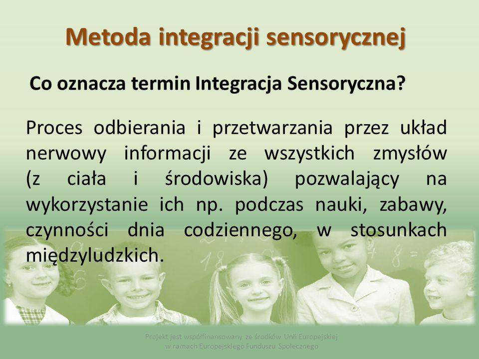 Co oznacza termin Integracja Sensoryczna