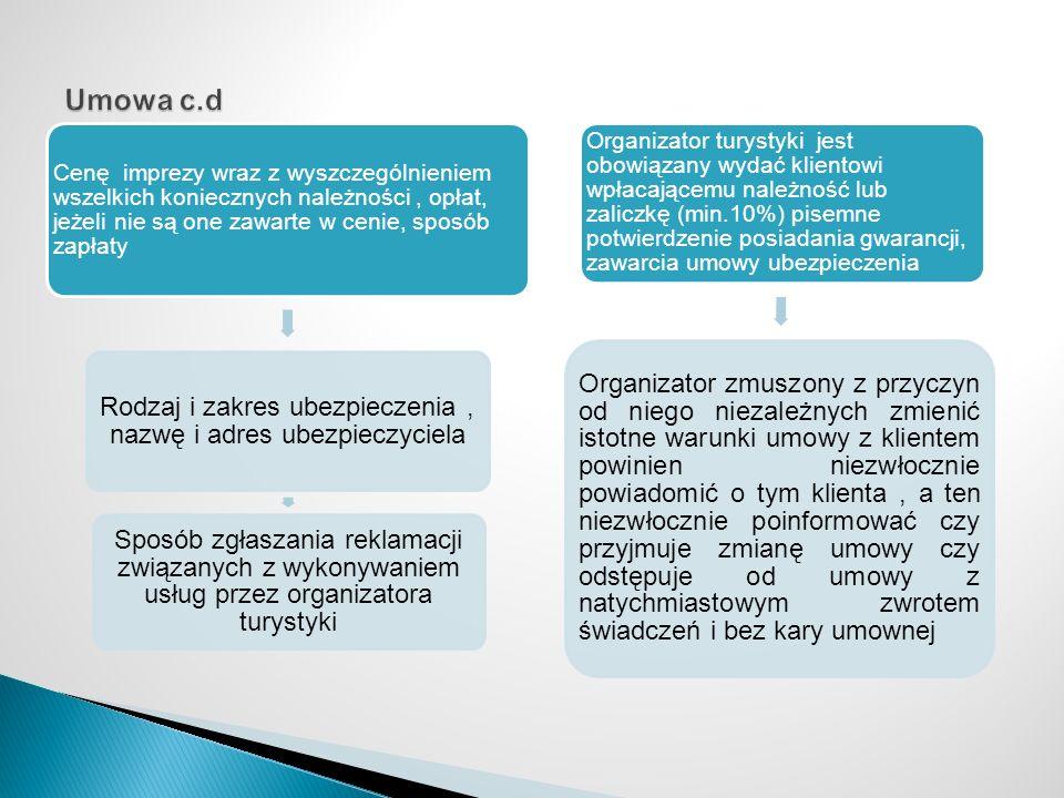 Rodzaj i zakres ubezpieczenia , nazwę i adres ubezpieczyciela