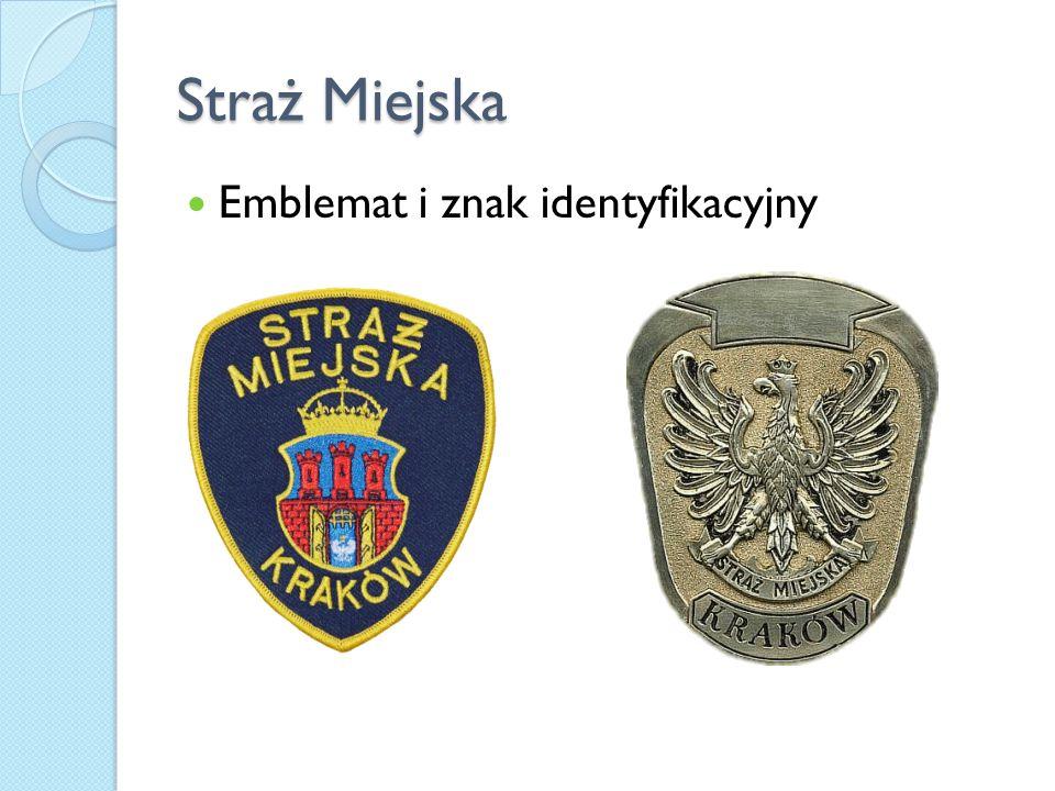Straż Miejska Emblemat i znak identyfikacyjny