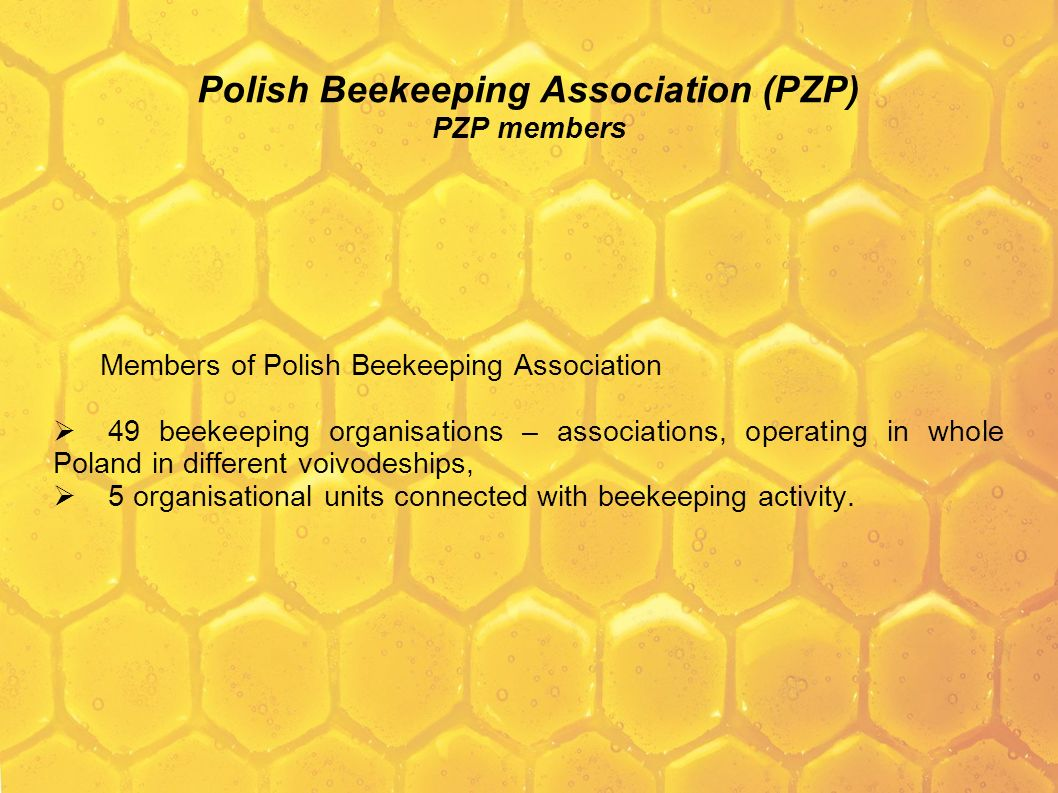 Polish Beekeeping Association (PZP) PZP members