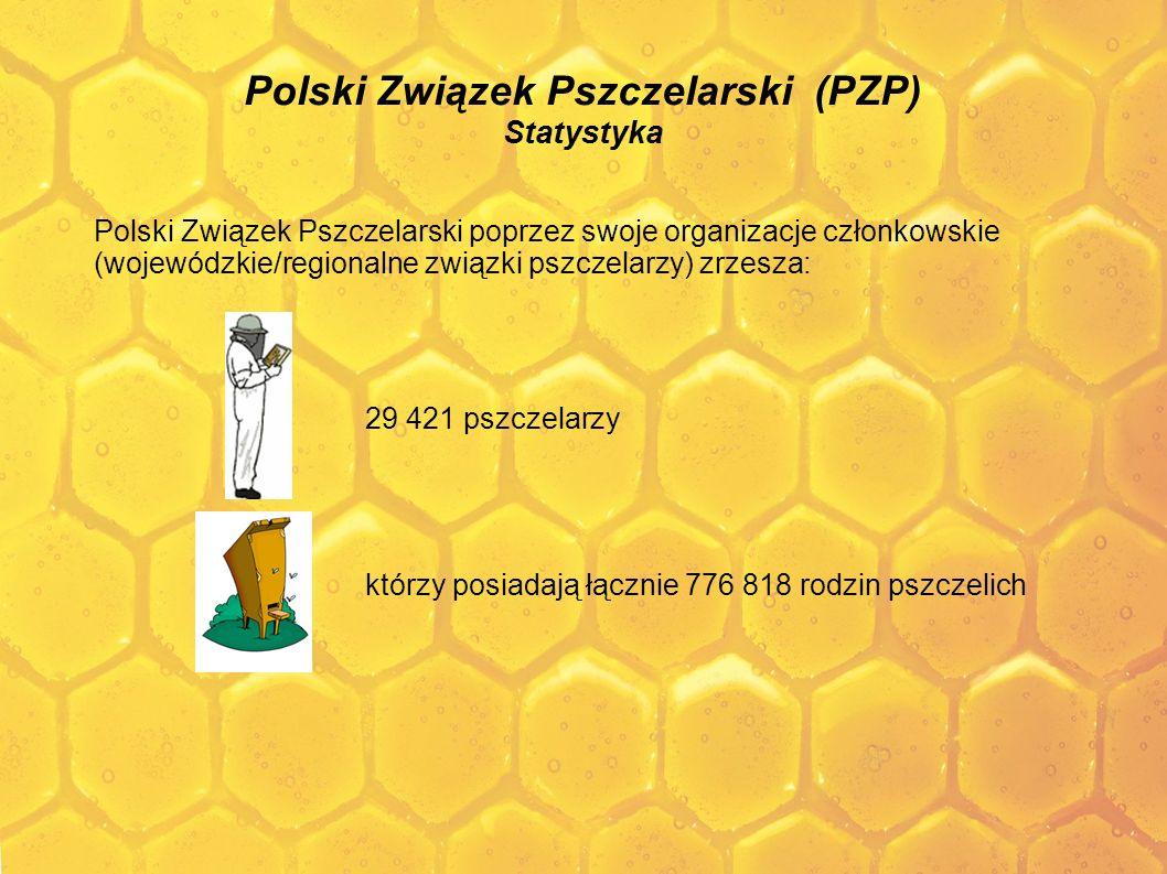 Polski Związek Pszczelarski (PZP) Statystyka