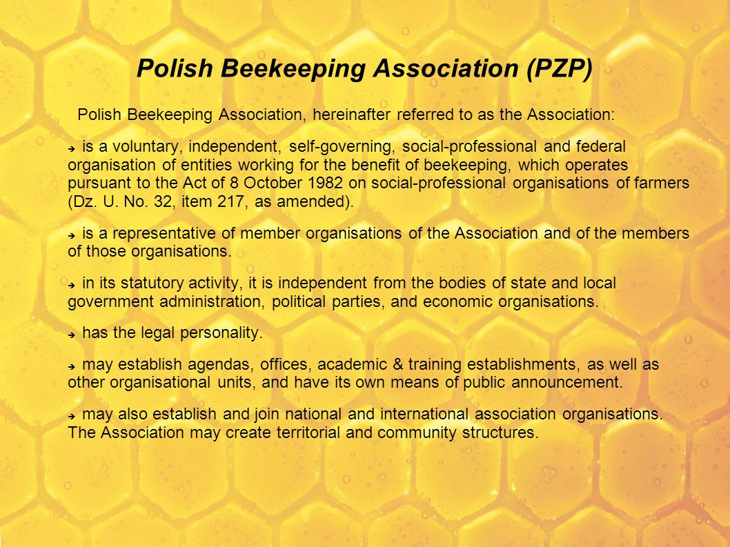 Polish Beekeeping Association (PZP)