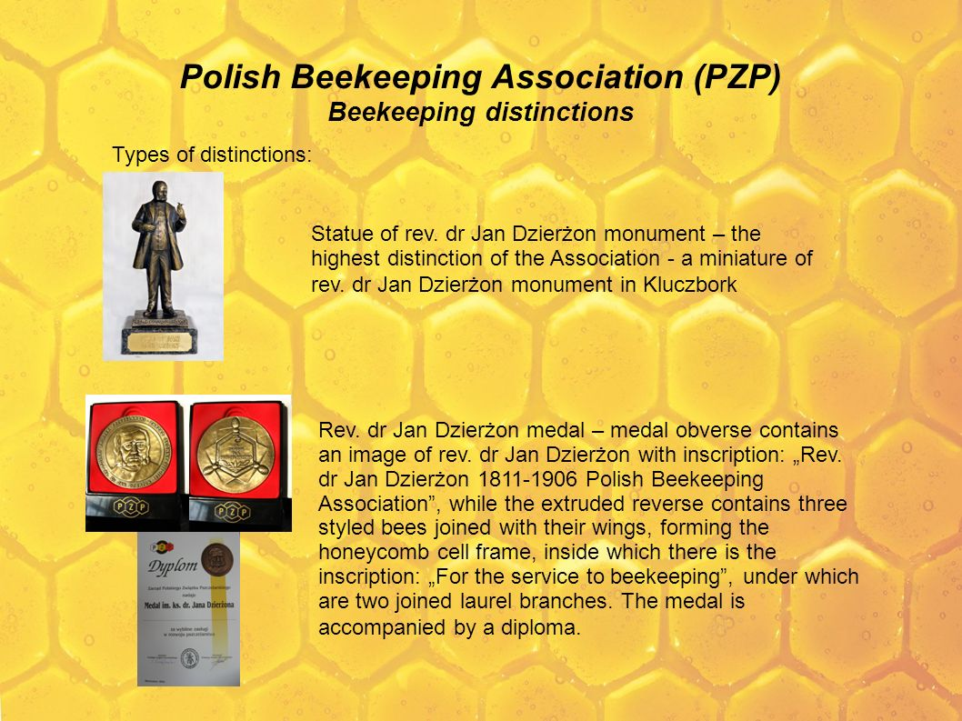 Polish Beekeeping Association (PZP) Beekeeping distinctions