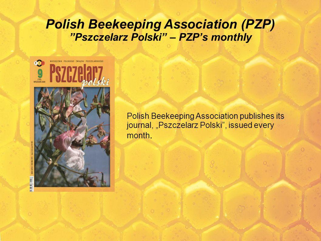 Polish Beekeeping Association (PZP) Pszczelarz Polski – PZP's monthly