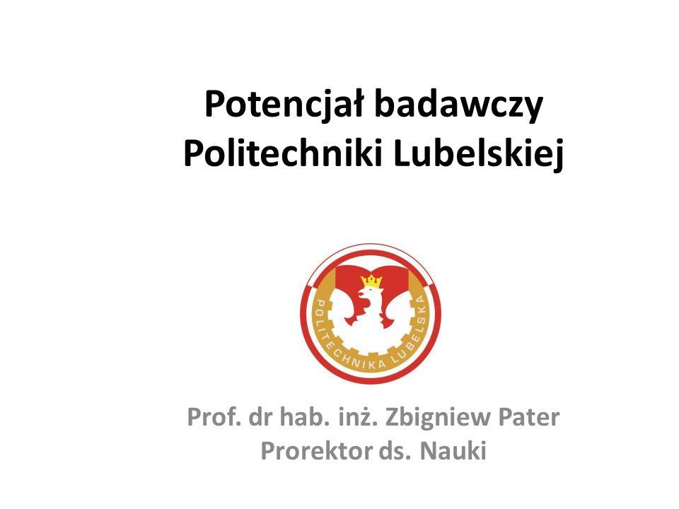 Potencjał badawczy Politechniki Lubelskiej