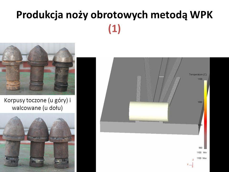 Produkcja noży obrotowych metodą WPK (1)