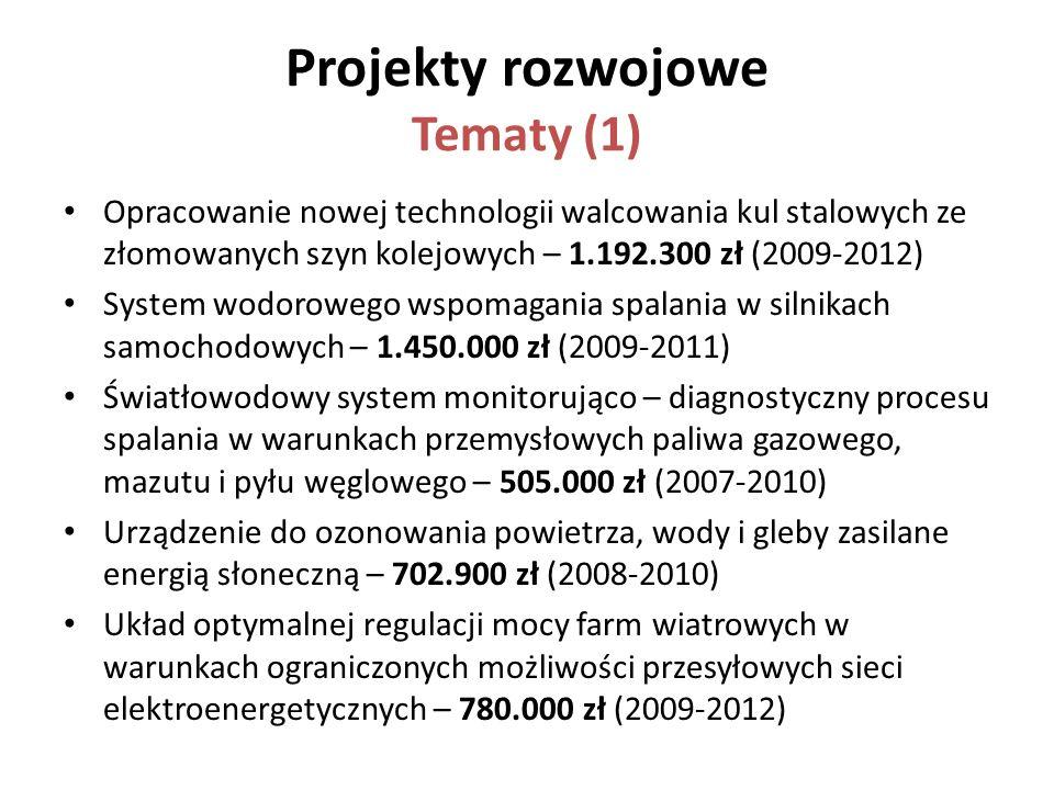Projekty rozwojowe Tematy (1)