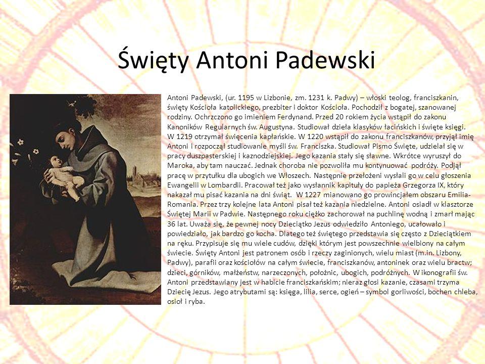Święty Antoni Padewski