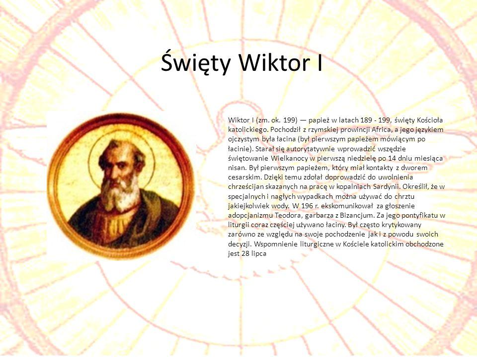 Święty Wiktor I