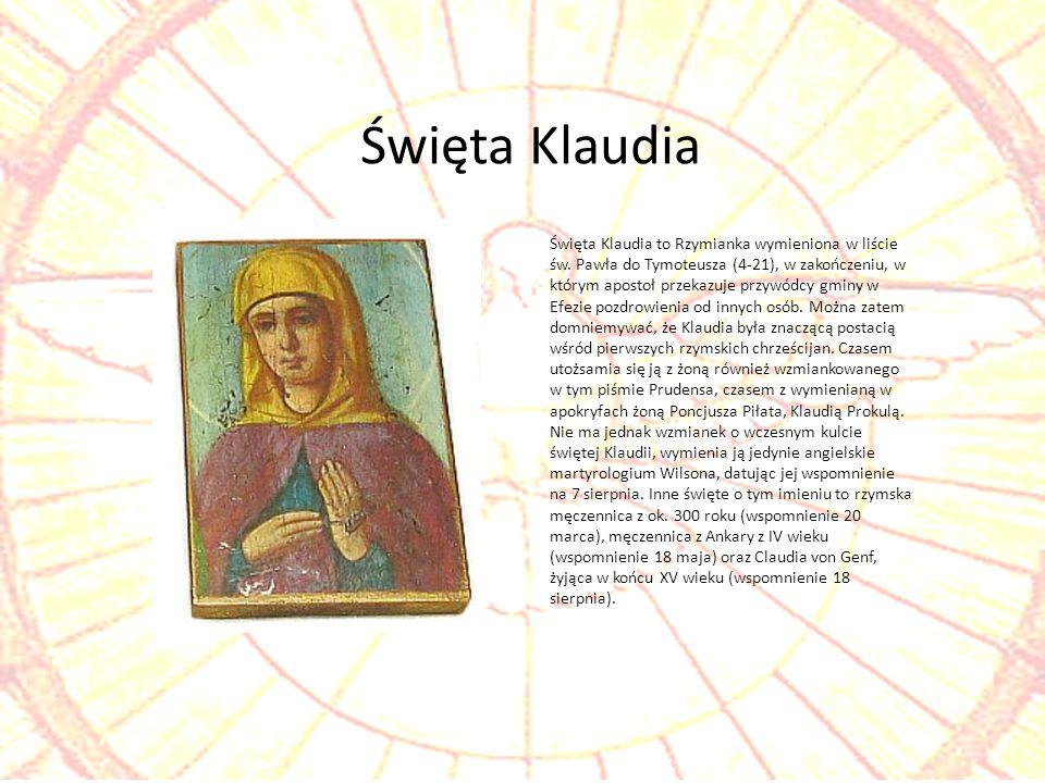 Święta Klaudia