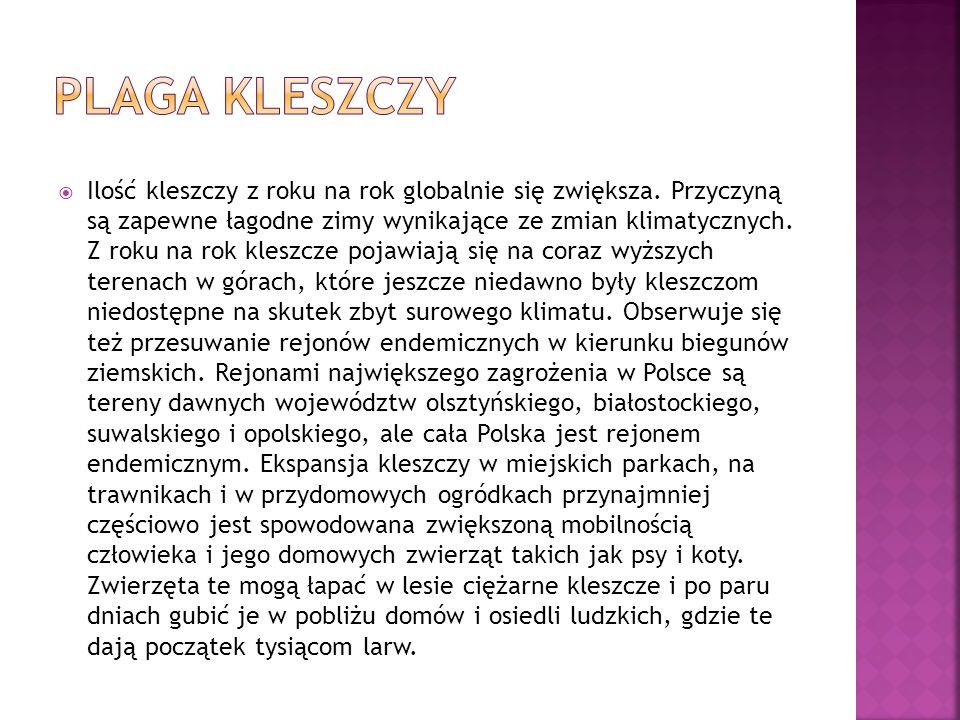 Plaga Kleszczy