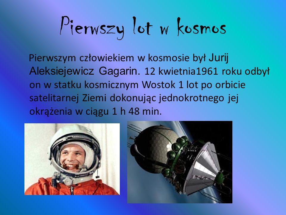 Pierwszy lot w kosmos