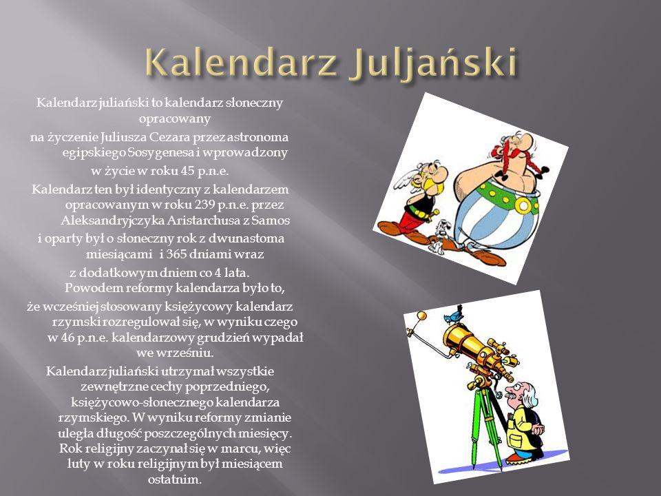 Kalendarz Juljański