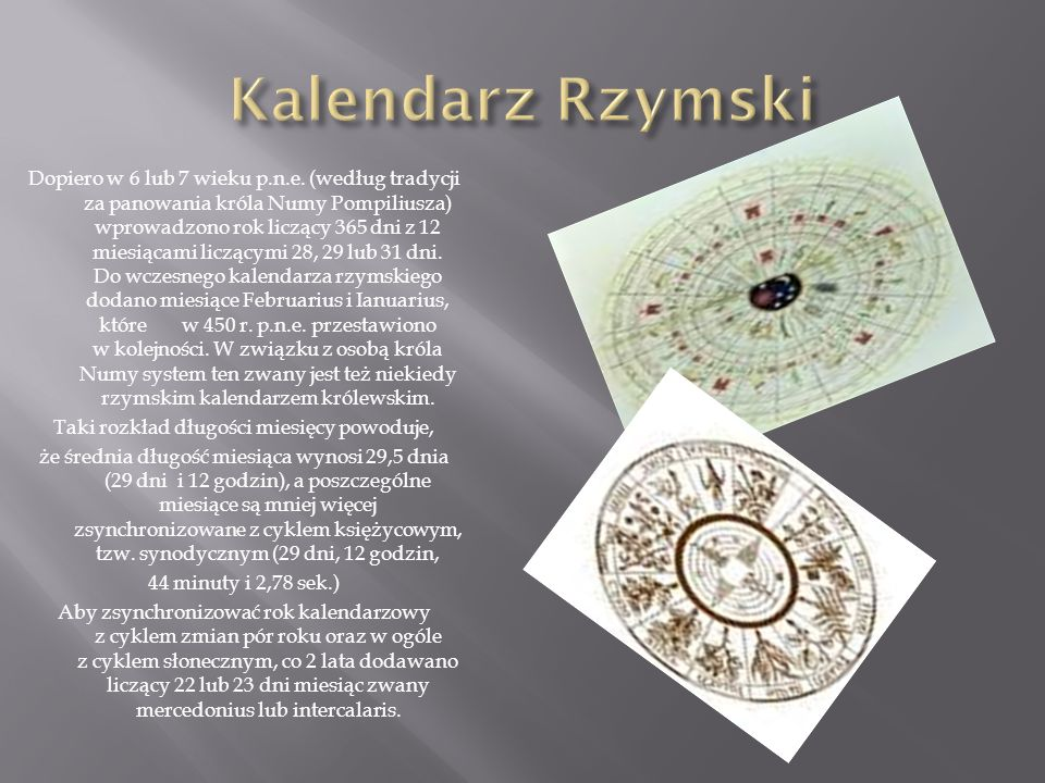 Kalendarz Rzymski