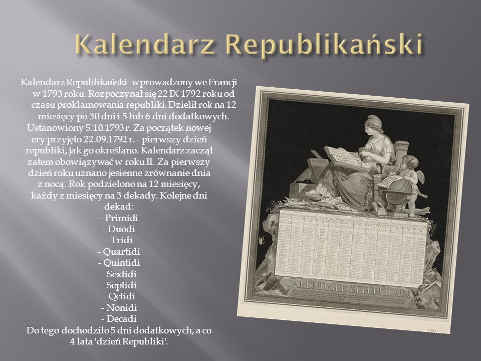 Kalendarz Republikański