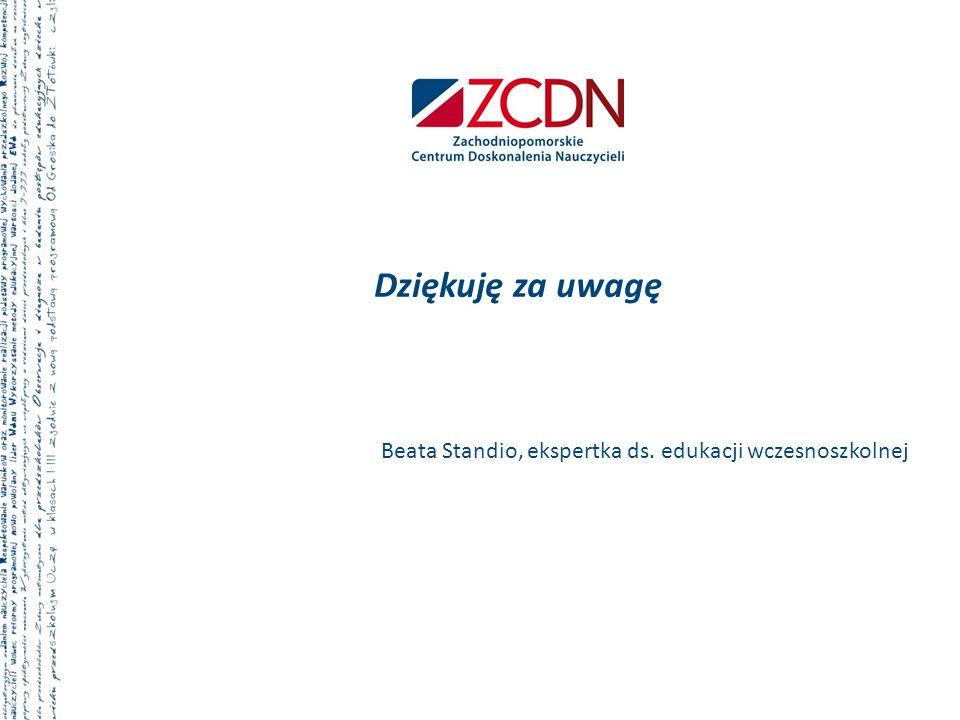 Beata Standio, ekspertka ds. edukacji wczesnoszkolnej