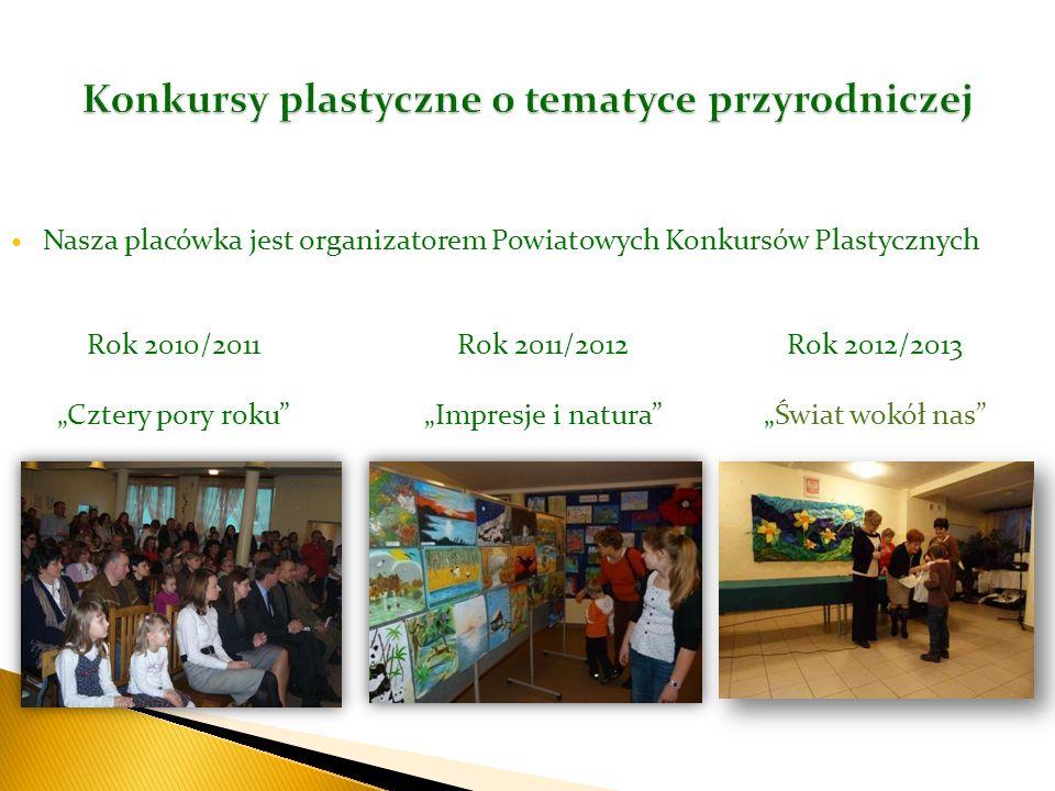 Konkursy plastyczne o tematyce przyrodniczej