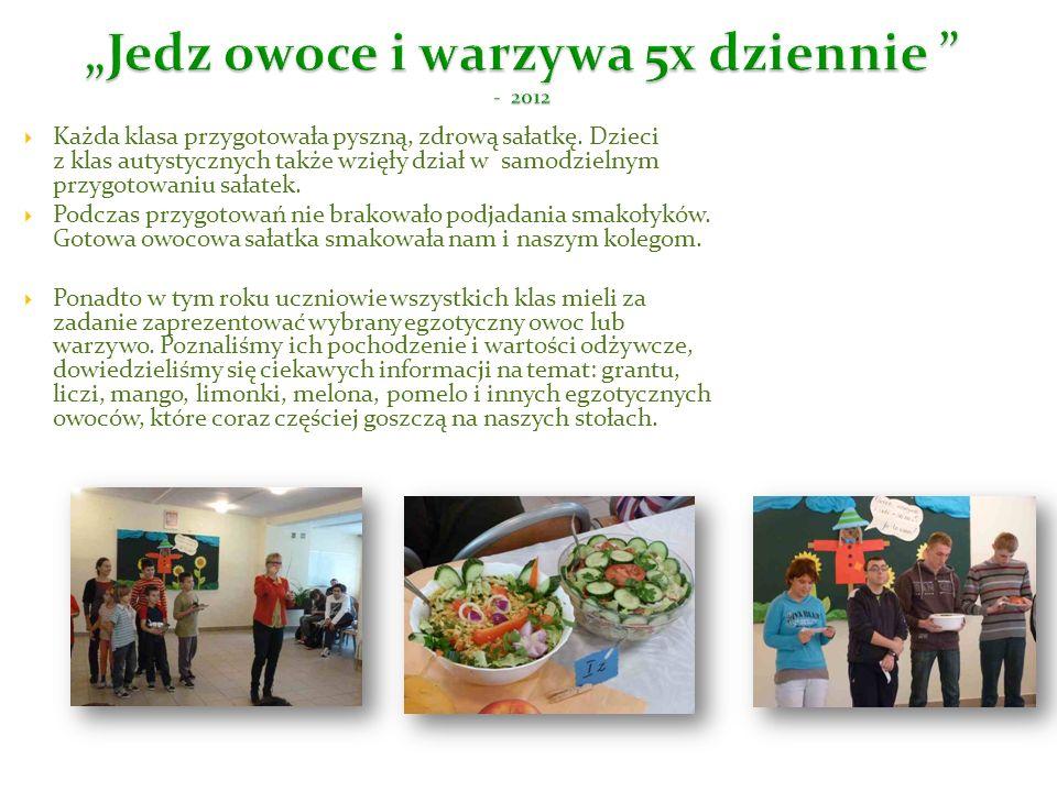 """""""Jedz owoce i warzywa 5x dziennie - 2012"""