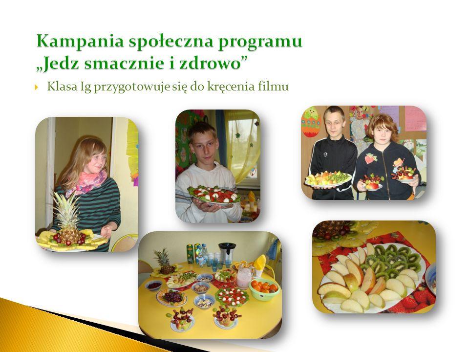 """Kampania społeczna programu """"Jedz smacznie i zdrowo"""