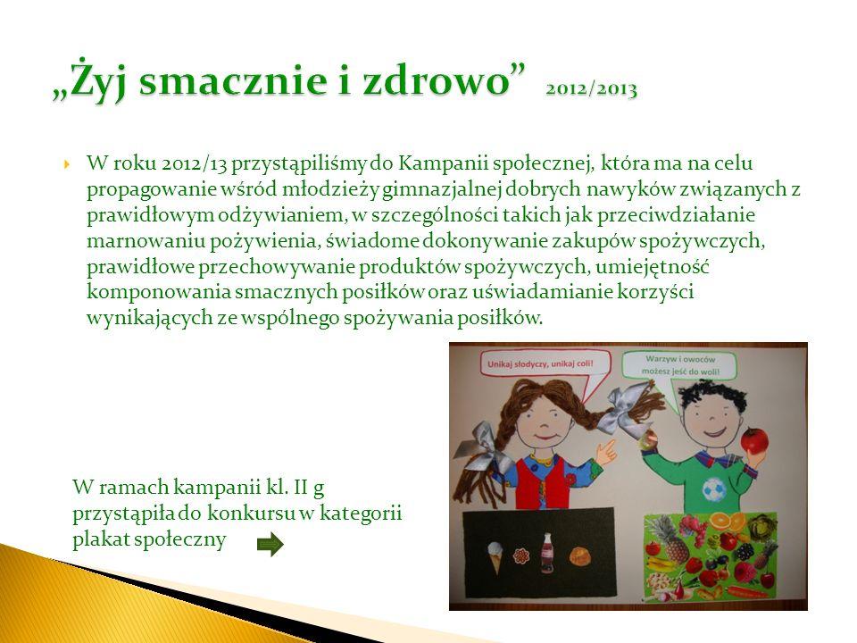 """""""Żyj smacznie i zdrowo 2012/2013"""