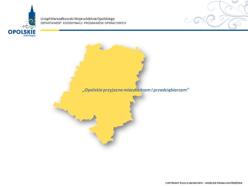 """""""Opolskie przyjazne mieszkańcom i przedsiębiorcom"""