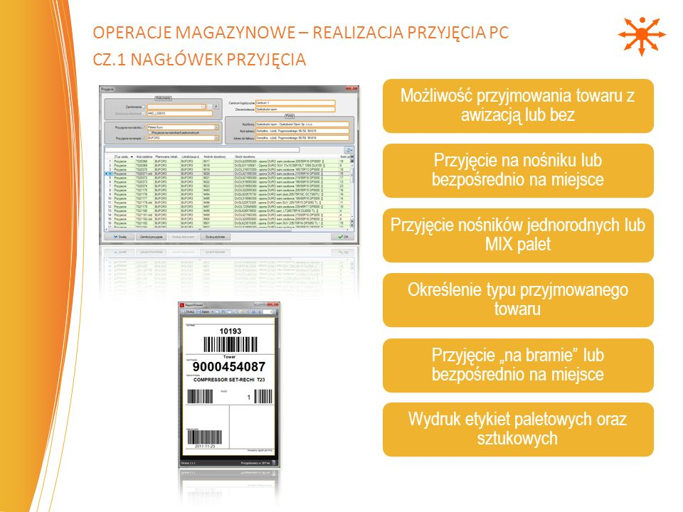 Operacje magazynowe – Realizacja Przyjęcia PC cz.1 Nagłówek Przyjęcia