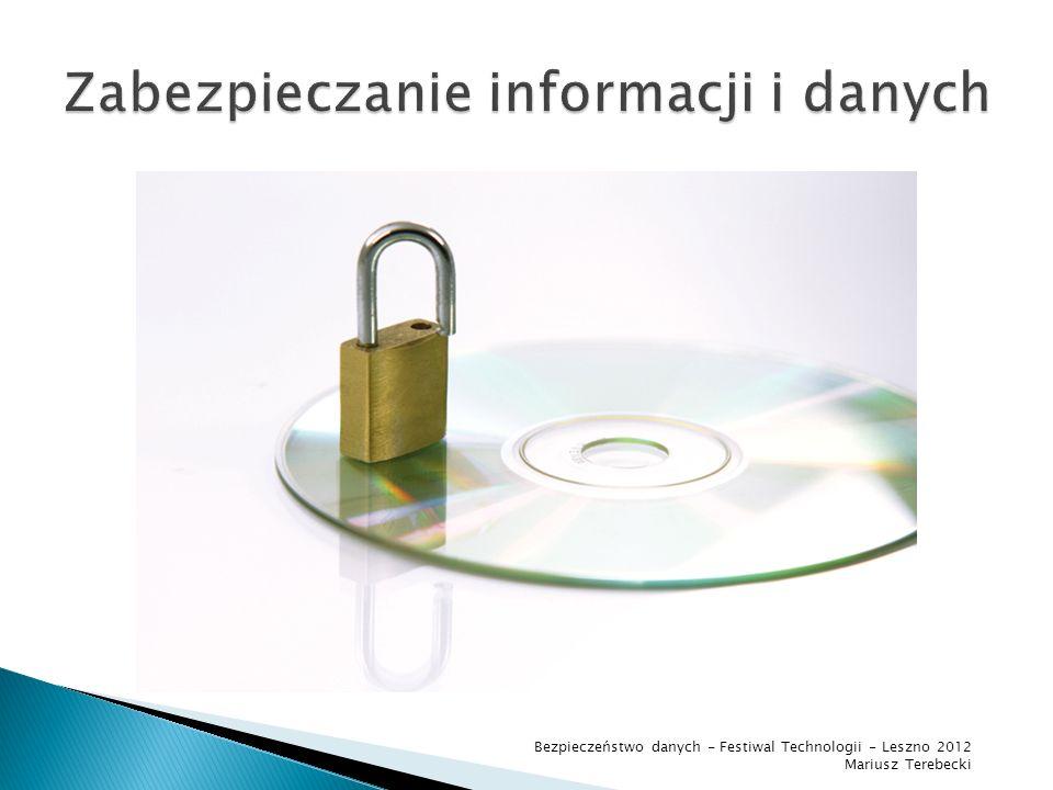 Zabezpieczanie informacji i danych