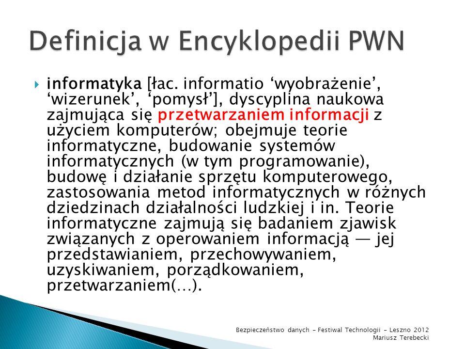 Definicja w Encyklopedii PWN