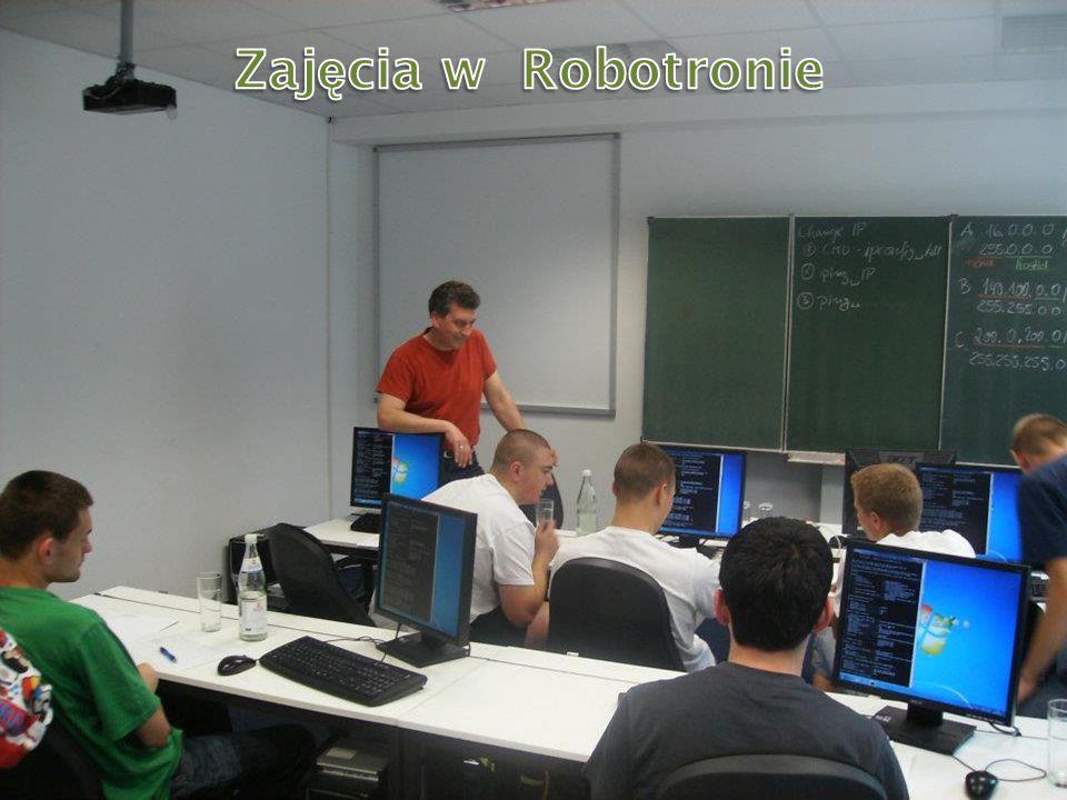 Podczas zajęć Zajęcia w Robotronie